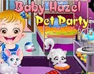 Baby Hazel: Pet Party